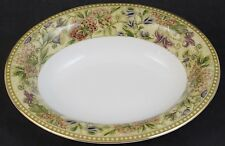 """Vintage Wedgewood Floral Tapestry Insects Open Porcelain Vegetable Bowl 9 3/4"""""""