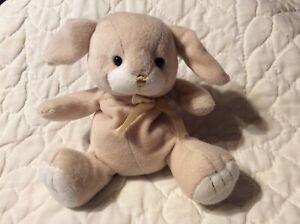"First Impressions Lamb plush Soft Stuffed Animal Lovey 9"" Sitting Beige Sheep"
