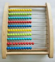 Kids Wooden Education Beads Abacus Counter Toy Early Learning Math Kids