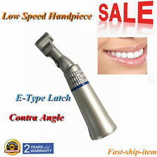 Dental Low Slow Speed Handpiece Contra Angle E-type Latch Bur 2.35mm NSK-Style