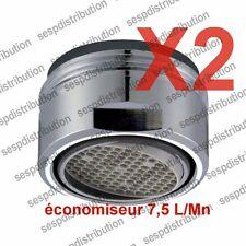 Economiseur d'eau 7,5 L/minute  NEOPERL SSR jet directionnel 7° lot de 2
