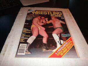 WRESTLING SCENE Magazine vol 2 no 7 1983 tommy rich vs buzz  sawyer wwe wcw nwa
