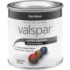 Valspar Ltx Flat Black Enamel