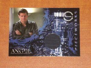ANGEL Season 3  PW1 DAVID BOREANAZ as ANGEL  'SHIRT' Authentic Piecework Card H