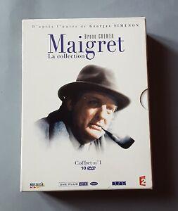 COFFRET 10 DVD MAIGRET - LA COLLECTION - N°1 - Bruno CREMER