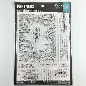 Hero Arts Pinkfresh Partners Collaborative You Make A Difference Clear Stamp Set