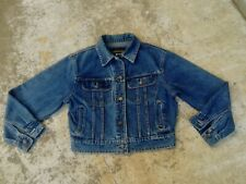 Valentino Jeans Jacket Vintage 80's 90's Giacca Denim Slim Fit Man Woman Size 36