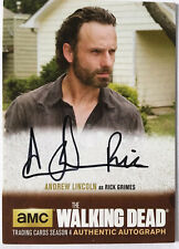 The WALKING DEAD - Andrew Lincoln as RICK GRIMES - Autogramm / Autograph Card