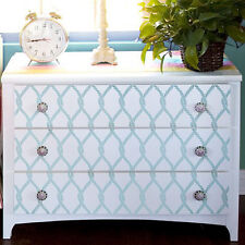 Perfect Catch Craft Furniture Stencil - Nautical Stencil Design for DIY Crafts