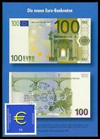 BUND MK 2002 EURO-EINFÜHRUNG PRIVATE !! MAXIMUMKARTE CARTE MAXIMUM CARD MC cc91