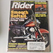 Rider Magazine Harley Heritage TC88B Softail November 1999 052617nonrh3