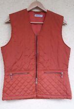 Street One Steppweste 36 Terracotta 2 Taschen mit RV
