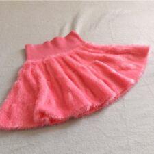 Hot Pink Furry Soft Mini Skirt Stretch Kawaii Bobon21 Harajuku Japan Gyaru