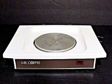 Mr. Coffee Hot Plate Warmer Electric White