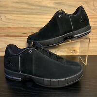 Nike Air Jordan TE Team Elite 2 Low Men's Triple Black Multi Sizes AO1696-003