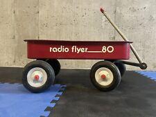 Vintage Radio Flyer 80 Red Wagon