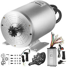 Vevor 48v 2000w Brushless Motor Kit With Controller Grip Key And 3 Speed Shifter