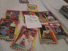 1987 Maxx Race Cards Promo