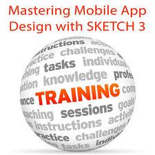 Padroneggiare mobile app design con schizzo 3-Video formazione tutorial DVD