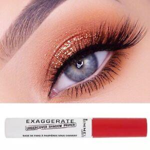Rimmel Exaggerate Eyeshadow Eye Primer Make Up Long Lasting No Crease New