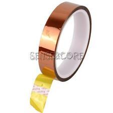 20mm 2cm X 30M 100ft Kapton Tape High Temperature Heat Resistant Polyimide