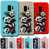 TPU Rubber Gel Cover Soft Case Silicone Back Panda 3D Skin For Samsung Galaxy S9