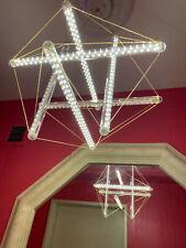 Museum Of Modern Art~Ingo Maurer Inspired~3' Large Chandelier~LumiLineLives LEDs
