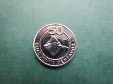 Cabinda 50 centavos  2001  unc