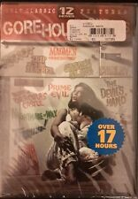 The Gorehouse Greats Collection 12 Movies Brand New  (DVD, 2009, 3-Disc Set)