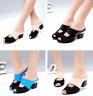 Summer Women's Rhinestone Peep Toe Sandals Slippers Casual Slides Shoes US 4.5-9