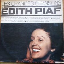 french 1960's LP-edith piaf- les grandes chansons-made in israel !  litratone