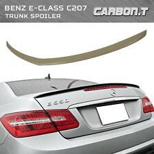 Stock IN US 2010-2016 M-Benz E-Class Coupe C207 AMG Type Unpainted Trunk Spoiler