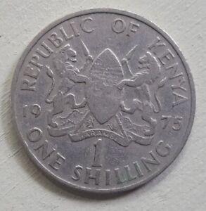 Kenya 1975. 1 Shilling. Daniel Arup Moi