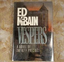 Vespers by Ed Mcbain First Edition 1990, Hardcover