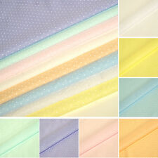 Pastel Polka Dots Fabric 2mm Spots Polycotton Dotty Tiny