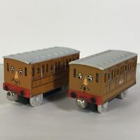 Thomas the Train Annie and Clarabel Cars Diecast Metal Take Play Tank Engine