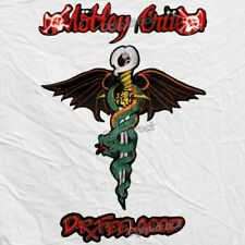 Set Motley Crue Dr. Feelgood Big Logos Embroidered Patch Nikki Sixx Winged Snake