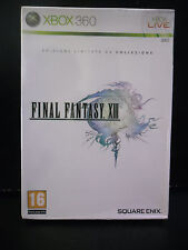 FINAL FANTASY XIII 13 LIMITED COLLECTOR'S EDITION NUOVO XBOX 360