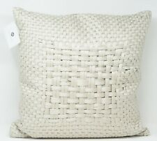 "Hotel Collection Dimensions 20"" Cotton Blend Luxe Decorative Pillow - Champagne"