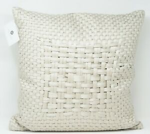 """Hotel Collection Dimensions 20"""" Cotton Blend Luxe Decorative Pillow - Champagne"""