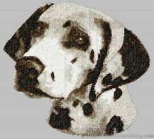Large Embroidered Zippered Tote - Dalmatian DLE3711