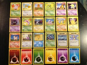 Pokémon First Edition Basic French Card lot