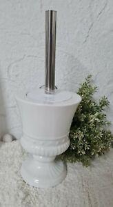 Toilet Brush Toilet Set Bathroom Landhaus Shabby Chic Vintage White