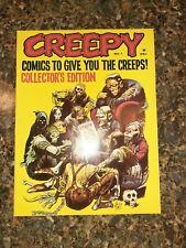 Creepy Magazines - Issues #1,2,3,4 (Lot) vf