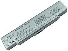 Laptop Battery for Sony Vaio VGN-NR385E VGP-BPS9/S VGP-BPL9 VGN-SZ7 Silver