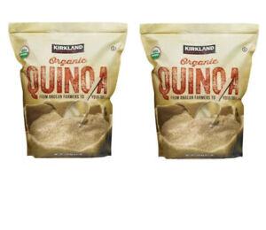 2 x Kirkland Signature Organic Quinoa 2.04Kg x 2 USDA Organic