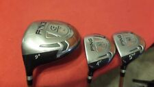 Ping G10 Wood Set 9* Driver 4-5 Woods TFC129 Regular Graphite Men Left Handed