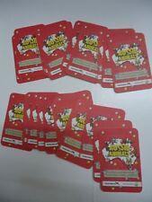 Woolworths aussie animal cards. Baby wildlife. red.  No's 1 - 36  Set