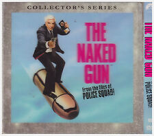 NAKED GUN (DVD, 1988. Thin 5x5 Sleeve) NEW AND SEALED, LENTRICULAR COVER