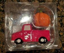 Pumpkin Salt and Pepper Shakers Harvest Truck Red New